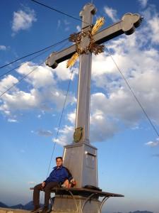 Christian mit Kreuz